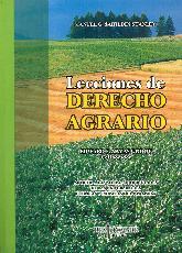 Lecciones de Derecho Agrario
