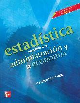 Estadística Aplicada a la Administración y a la Economía