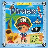 Piratas. Libro de actividades. Mis primeros Stencil