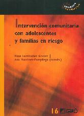 Intervención comunitaria con adolescentes y familias en riesgo