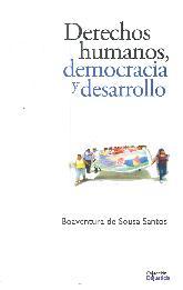 Derechos humanos,democracia y desarrollo