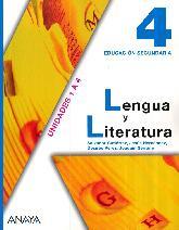 Lengua y Literatura 4 Educación Secundaria