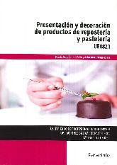 Presentación y decoración de productos de repostería y pastelería