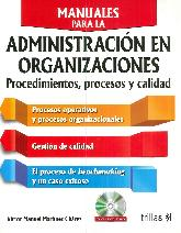 Manuales para la Administración en Organizaciones