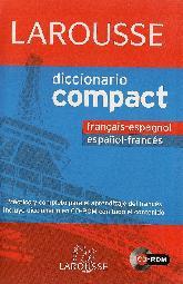 Larousse Diccionario Compact Francais Espagnol Español Frances