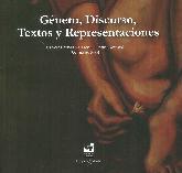 Género, Discurso Textos y Representaciones
