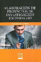 Elaboración de Proyectos de Investigación en Derecho