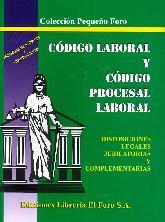 Código Laboral y Código Procesal Laboral (Pequeño)