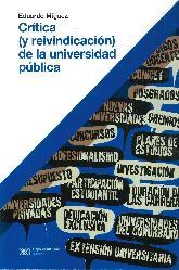 Crítica (y reivindicación) de la Universidad Pública