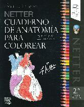 Cuaderno de Anatomía para Colorear Netter