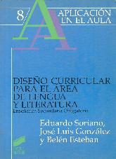 Diseño curricular para el area de lengua y literatura : ESO