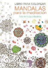Libro para colorear mandalas para la meditación