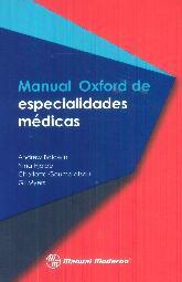 Manual Oxford de especialidades médicas