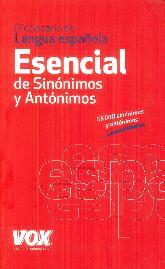 Esencial de Sinónimos y Antónimos