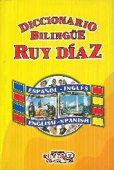 Diccionario Bilingüe Ruy Díaz Español Inglés English Spanish