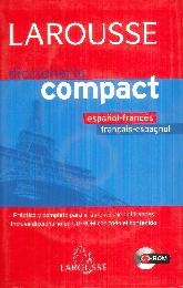 Larousse Diccionario Compact Español Frances Francais Espagnol Cd