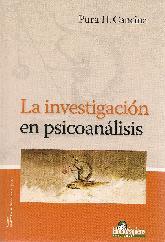 La investigacion en psicoanalisis