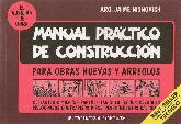 Manual practico de construcción para obras nuevas y arreglos