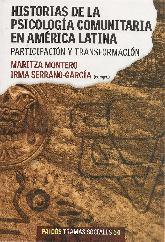 Historia de la psicología comunitaria en América Latina