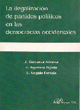 La ilegalizacion de partidos politicos en las democracias occidentales