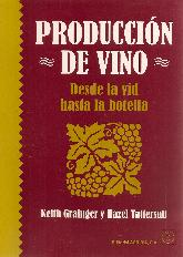 Producción de vino