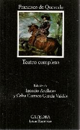 Teatro completo. Francisco de Quevedo