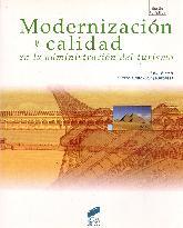Modernización y calidad en la administración del turismo