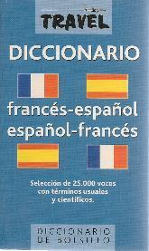 Travel Diccionario Frances-Español Español-Frances