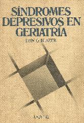 Sindromes depresivos en geriatria