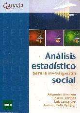 Analisis estadístico para la investigación social