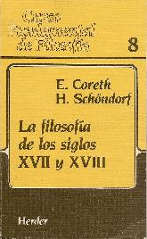 Curso Fundamental de Filosofia La filosofía de los siglos XVII y XVIII