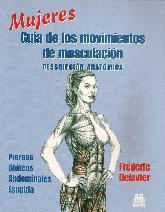 Mujeres guía de los movimientos de musculación