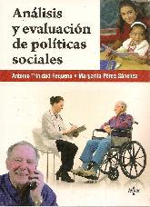 Análisis y evaluación de políticas sociales