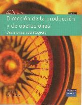 Dirección de la producción y de operaciones