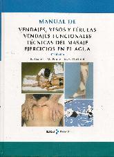 Manual de Vendajes, Yesos y Férulas, Vendajes Funcionales, Técnicas del Masaje, Ejercicios en el Agu