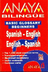 Anaya Bilingue Spanish English English Spanish