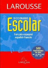 Larousse Diccionario Escolar Francais Espagnol Español Frances
