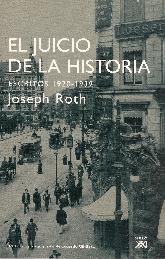 El Juicio de la Historia escritos 1920-1939