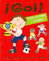 ¡Gol! Futbolea con stickers y actividades