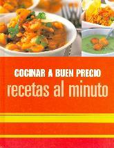 Cocinar a buen precio. Recetas al minuto