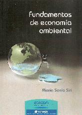 Fundamentos de económia ambiental
