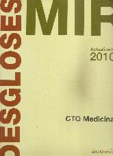 Desgloses MIR CTO Medicina Vol 1 y 2