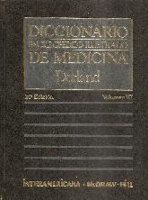 Diccionario de Medicina Dorland Vol III