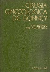 Cirugia ginecologica de Bonney