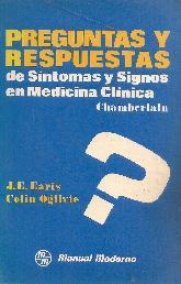 Preguntas y respuestas de signos y sintomas en medicina clinica