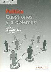 Politica, cuestiones y problemas