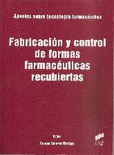 Fabricación y control de formas farmaceuticas recubiertas
