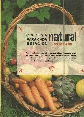 Cocina Natural para cada estación