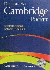 Diccionario Cambridge Pocket English Spanish Español Inglés