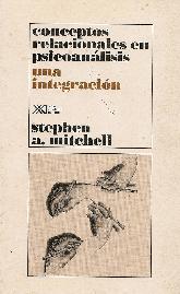 conceptos relacionales en psicoanalisis, una integracion.